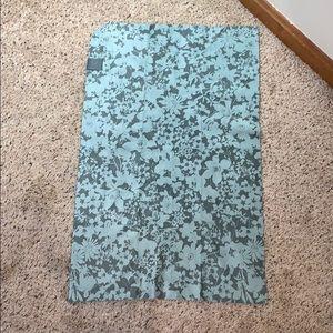 LuLuLemon The Towel Floral Teal Microfiber- OS